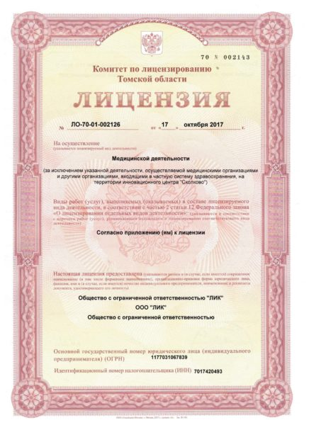аркада-лицензия